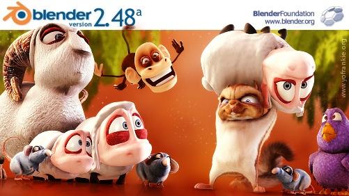 Blender-2.48a-splash-screen