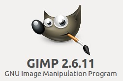 logo of GIMP version 2.6.11