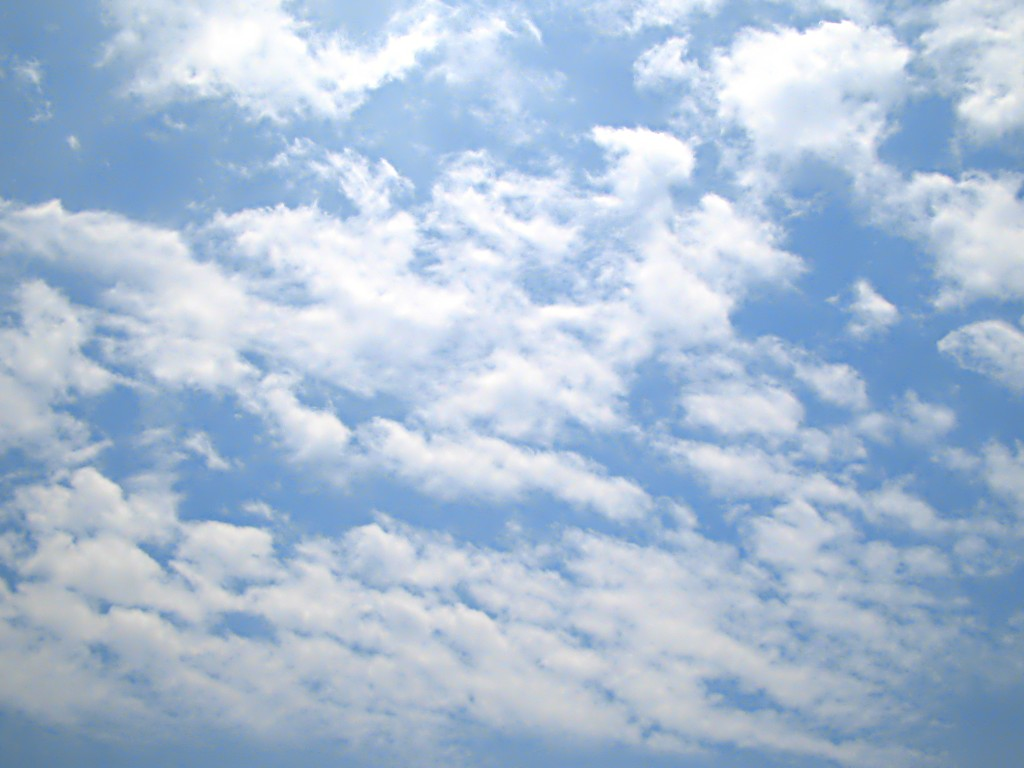 Cloudy Sky 01 free CC0 photo