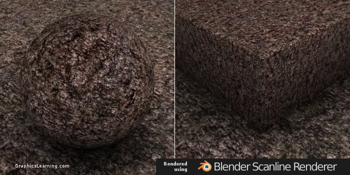 Seamless Bark 01 texture rendered