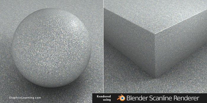 Seamless Paved Stone texture rendered